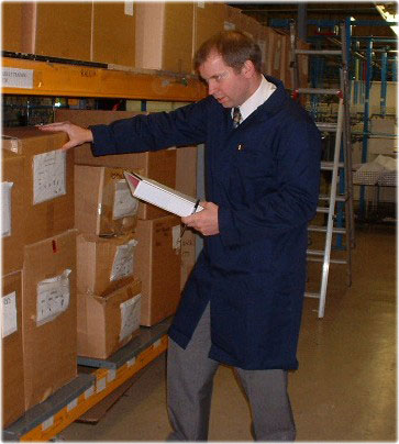 Embroidered Warehouse Coat