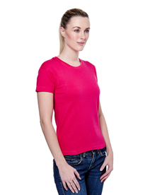 Embroidered Uneek Ladies Tee Shirt BCUC303