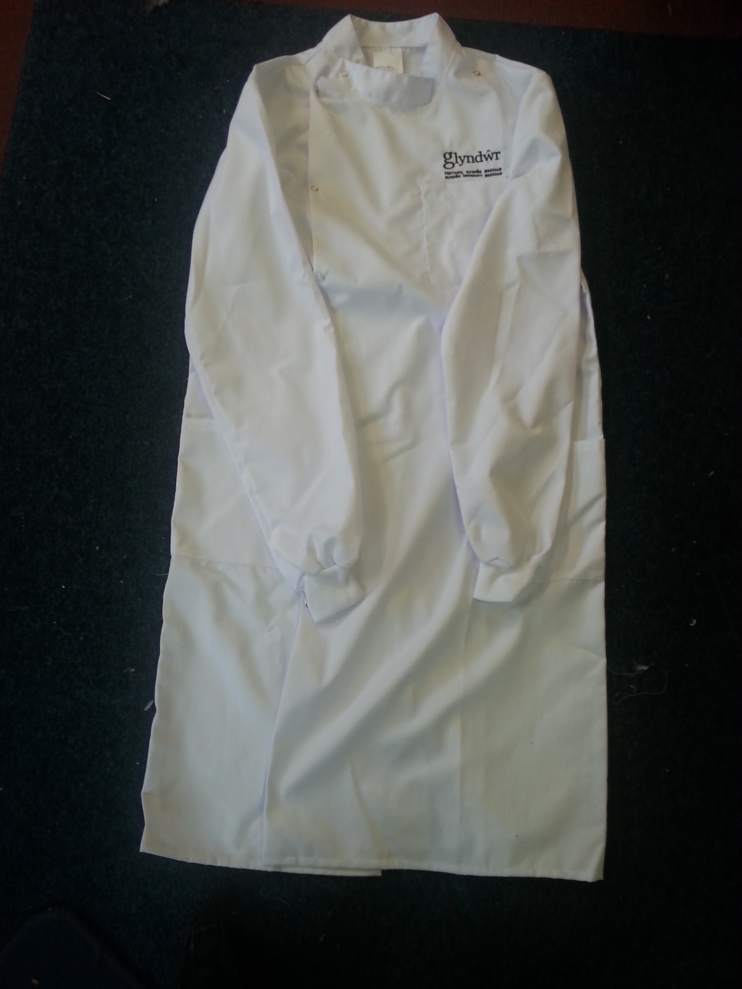 Embroidered Howie Style Lab Coat ACWCE3
