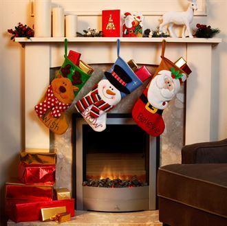 Bright character stocking