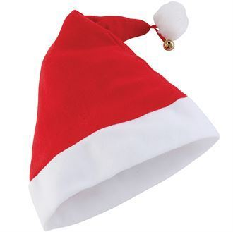Premium Santa Hat With Bell BCPSH1