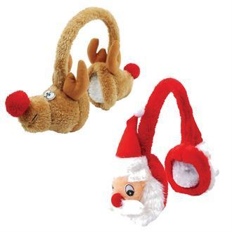 Plush Christmas Earmuffs BCPCE1
