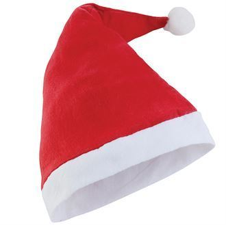 Plush Santa Hat BCPSH2