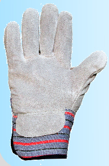 Unisex Leather Rigger Gardening Gloves