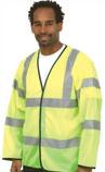 Hi-Vis Long Sleeve Safety Waistcoat