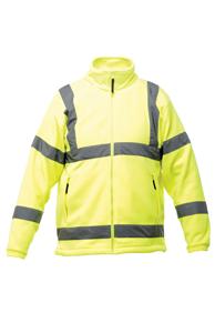 Hi-Vis Soft Shell Fleece Jacket