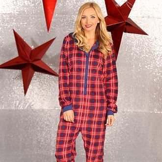 Adult Tartan Unisex All-in-one