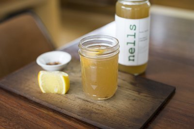 24 Oz Organic, Pasture-Raised Chicken Bone Broth with Lemongrass