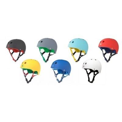 Универсальный шлем Triple Eight Brainsaver Rubber Sweatsaver Helmet