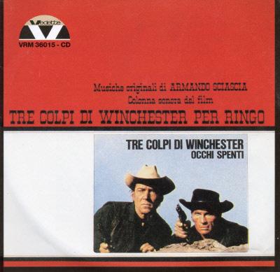 TRE COLPI DI WINCHESTER PER RINGO VRM 36015 CD