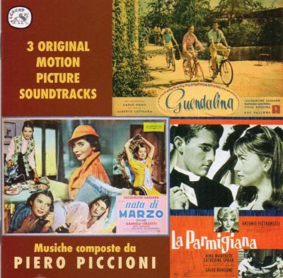 GUENDOLINA / NATA DI MARZO / LA PARMIGIANA CD36DLX