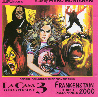 LA CASA GHOSTHOUSE 3 / FRANKENSTAIN RITORNO DALLA MORTE 2000 CDCR49