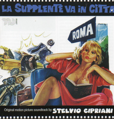 LA SUPPLENTE VA IN CITTA DDJ027
