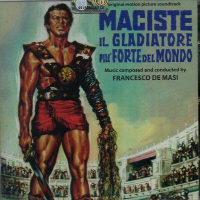 MACISTE IL GLADIATORE PIU FORTE DEL MONDO CDDM236