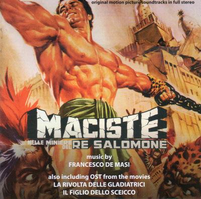 MACISTE NELLE MINIERE DEL RE SALOMONE / LA RIVOLTA DELLE GLADIATRICE / IL FIGLIO DELLO SCEICCO CDDM160