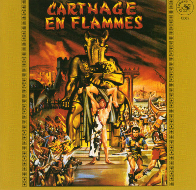SOLOMON AND SHEBA / CARTHAGE IN FLAMES CD 29