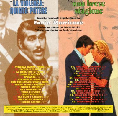 UNA BREVE STAGIONE / LA VIOLENZA:QUINTO POTERE CD 26