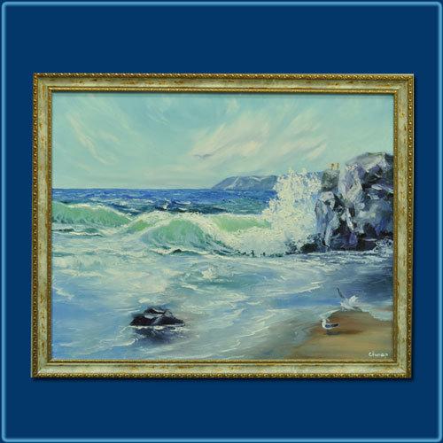 "Картина ""Стихия моря"""