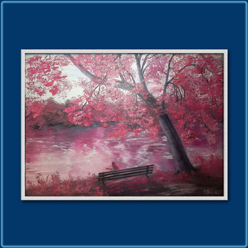 "Картина ""Розовая мечта"""