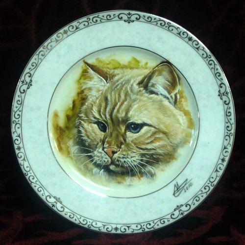 Тарелка декор.