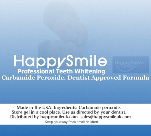 c0fbfc10a1ca SPECIAL PRICE   HappySmile 16% Carbamide Peroxide 3ml (Bulk Pack 50) ONLY £ 99.99
