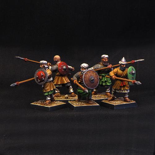 Arabian Infantry, first rank