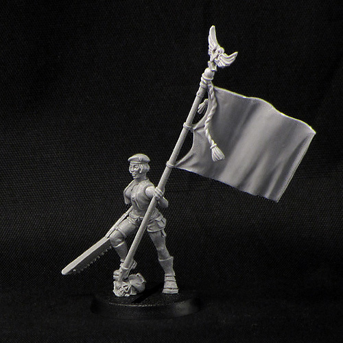 Female Standard-bearer