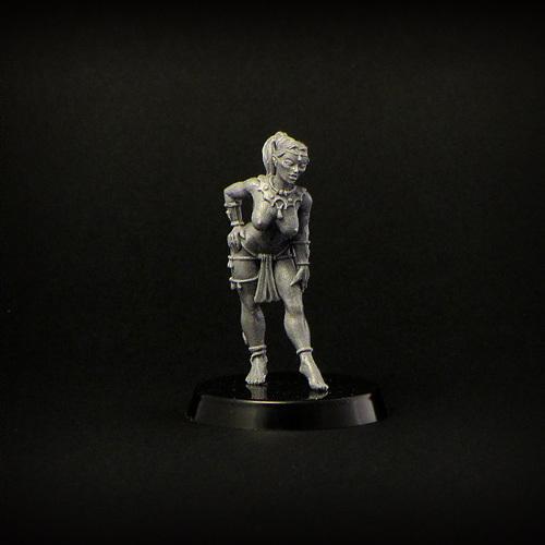 Elven Girl unarmed