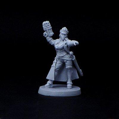 commissar Elizabeth Raven