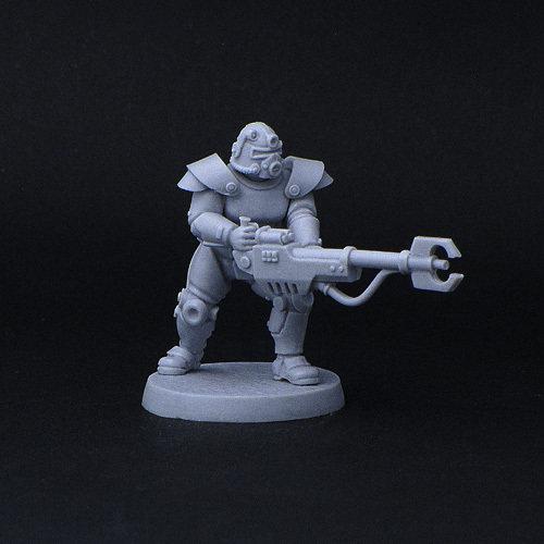 Retro power-armour