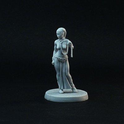 Captured Princess (naked)