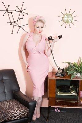 Pink Pinup strip tease set