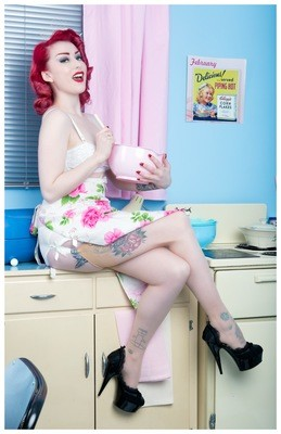 Kitchen Pinup 1