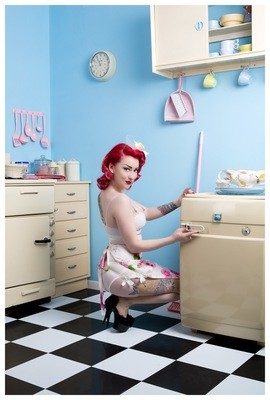 Kitchen Pinup 2