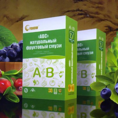 Fruit smoothies ABC (192 sachets)