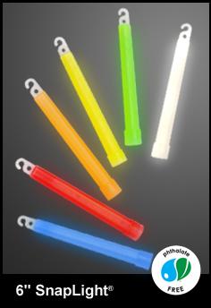 """Cyalume SnapLights 6"""" Safety Lightstick"""
