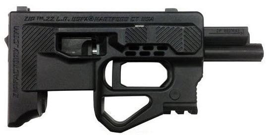 USFA ZIP Pistol, 22LR, 10RD, Black (#USZIPNMB76)