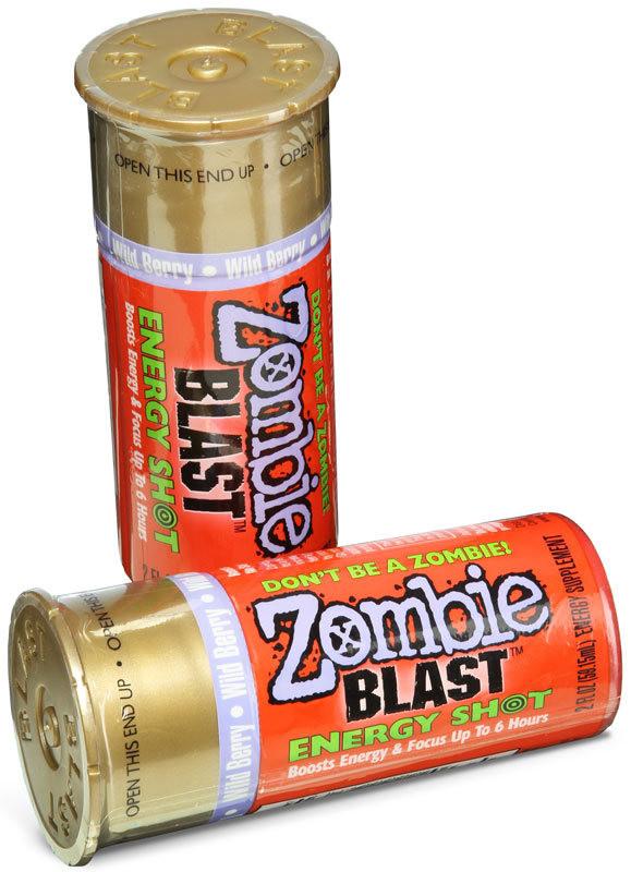 Zombie Blast Energy Drink