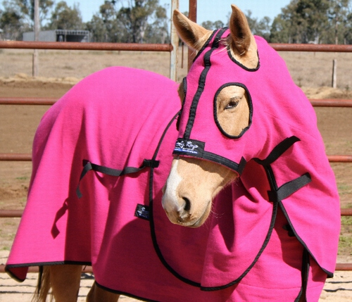 Pink Kersey Wool