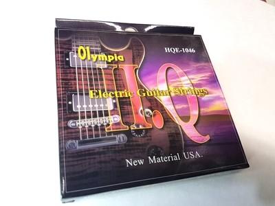 9 Packs Bulk Olympia HQE-1046 Nickel Wound 10-46 Electric Guitar Strings