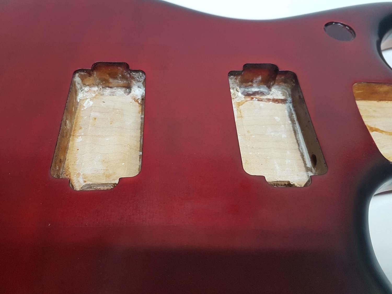 RED Carparelli Super Body Honduras Mahogany Canadian Maple & HipShot Bridge