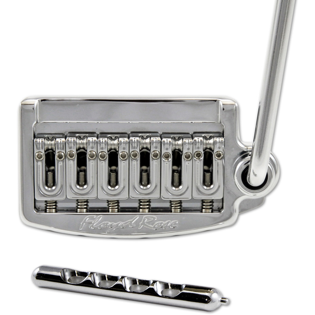 "Floyd Rose RT100W Chrome Rail Tail Tremolo Wide String Spacing Wide 2 7/32"" (vintage) string spacing.  (56mm)"