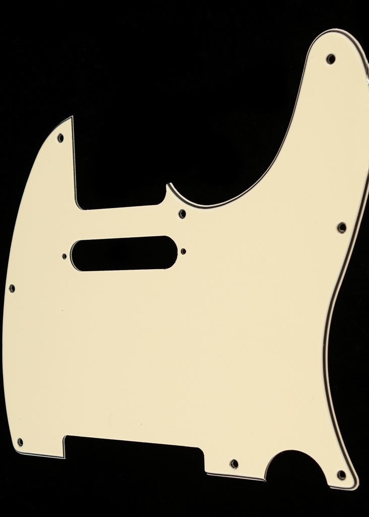 Allparts Pickguard for Tele®, (8 screw holes) Vintage Cream