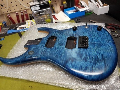 Fully Loaded Super-Body Royal Blue (no pickups)