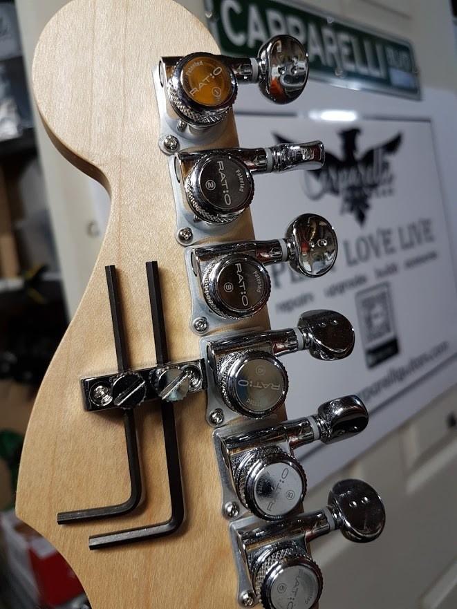 Carparelli Allen Hex Wrench Holder for Tremolos Floyd Rose Chrome