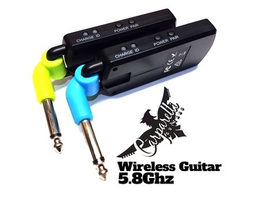 5.8GHz Wireless Transmission System Guitar or Bass COLOR EDITION