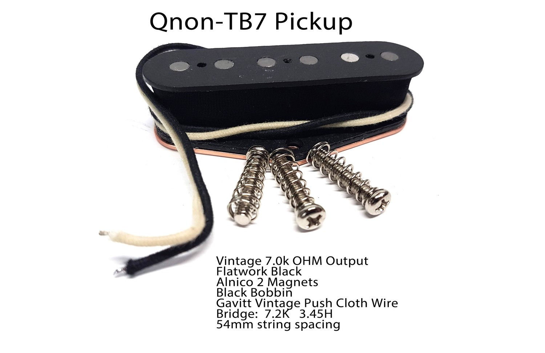 Qnon-TB7 Alnico V 7.3K ohms
