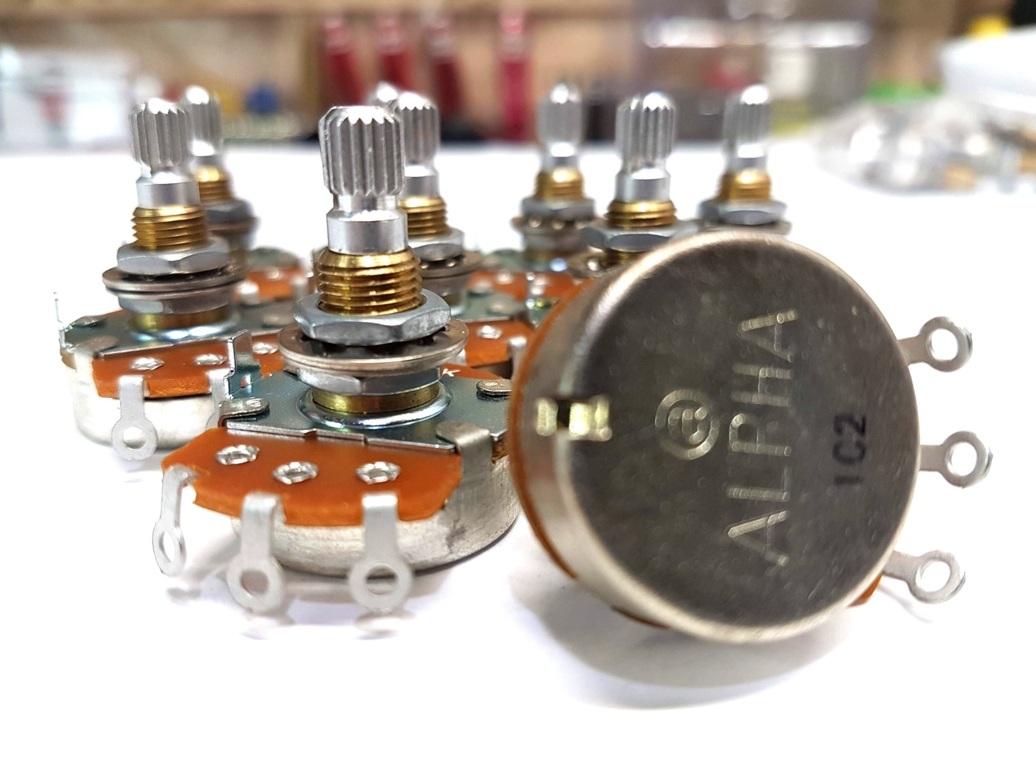 Alpha Potentiometer, 500K Audio