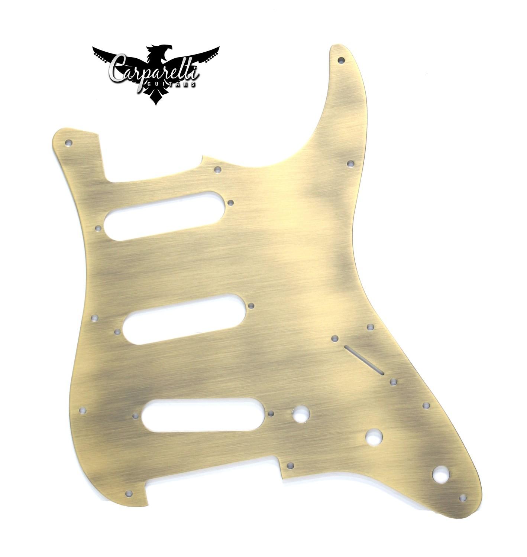 Carparelli Anodized Aluminum Pickguard for SSS Stratocaster® Bronze