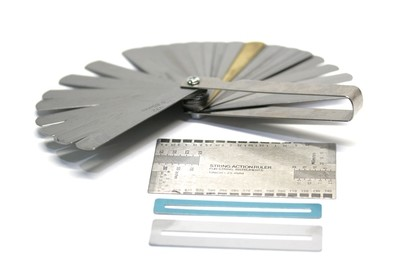 Carparelli 30/Feeler Gauge- String Height Measuring- Fret Protecters Kit